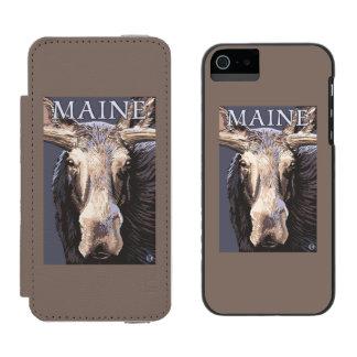 MaineMooseの終わり Incipio Watson™ iPhone 5 財布 ケース