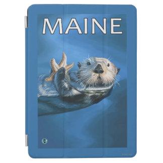 MaineSeaのカワウソ場面 iPad Air カバー