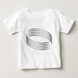 Majicのリングの目の錯覚 ベビーTシャツ