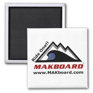 Makboardのスノーボードの昇進の磁石-正方形 マグネット