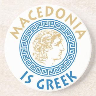 MAKEDONIAはギリシャ語- ALEXANDROSです コースター