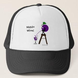 Makinのワイン-帽子 キャップ