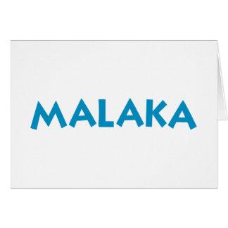 Malaka カード