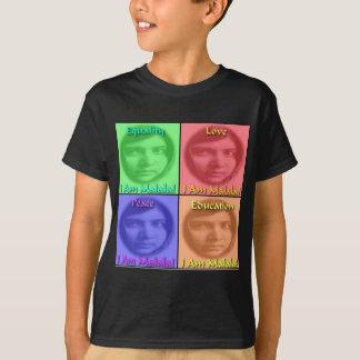 Malala愛平和教育の平等 Tシャツ