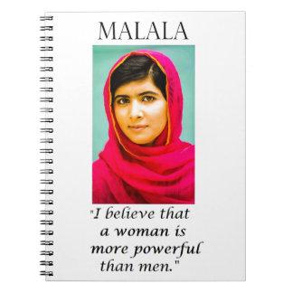 Malala: 人より強力! ノートブック