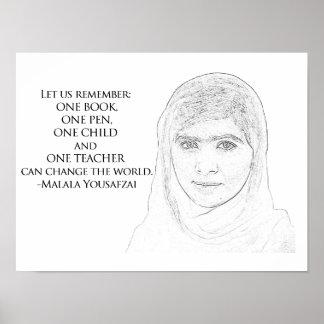Malala Yousafzaiポスター ポスター