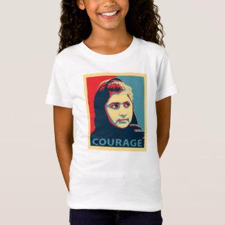 Malala Yousafzai -勇気のワイシャツの写真 Tシャツ