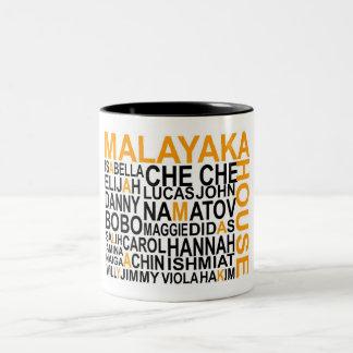 Malayakaの家のマグ ツートーンマグカップ