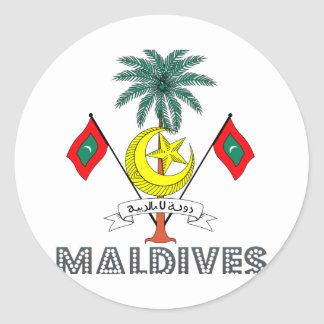 Maldivian紋章 ラウンドシール