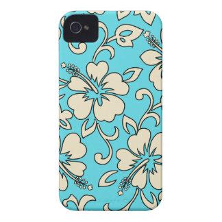 MaliaのハイビスカスのハワイのiPhone 4つのケース Case-Mate iPhone 4 ケース