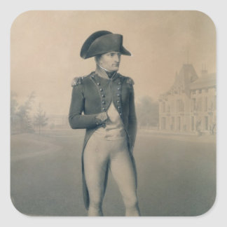 MalmaisonのNapoleon Bonaparteの最初領事 スクエアシール