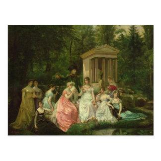 Malmaison、c.1867のバラ ポストカード
