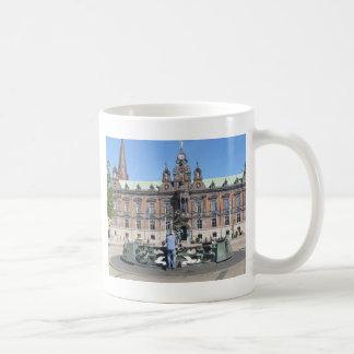 Malmöスウェーデン-市役所 コーヒーマグカップ