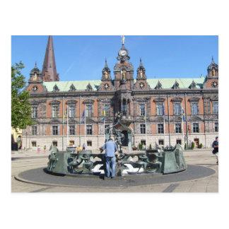 Malmöスウェーデン-市役所 ポストカード