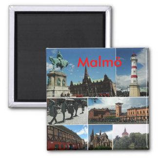 Malmo1、Malmö マグネット