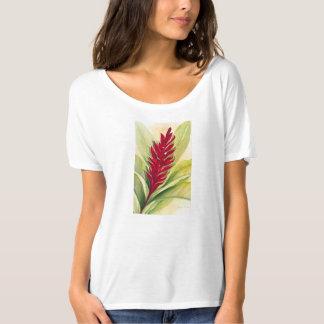 Malorie Arisumi、マウイ、ハワイ著赤いショウガ Tシャツ