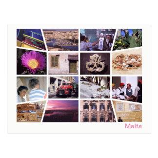 Malta multi-image ポストカード