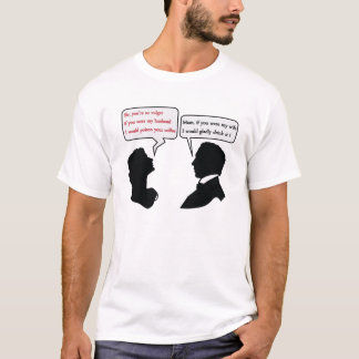 Mamおよび冗談 Tシャツ