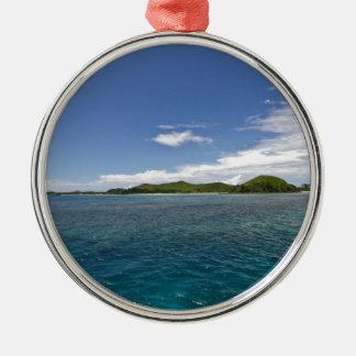 Mamanucaの島、フィージー メタルオーナメント