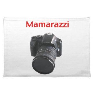 Mamarazziのカメラマン ランチョンマット