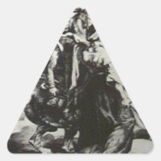 Mamelukeの防御のけが人のtrumpete 三角形シール