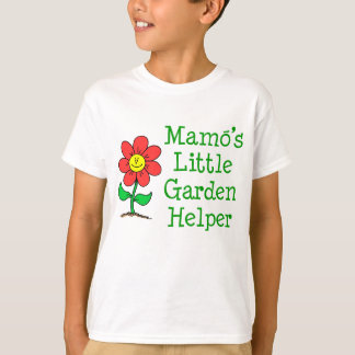 Mamoの少し庭の助手 Tシャツ