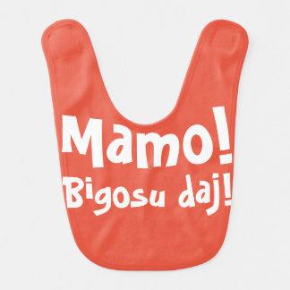 Mamo! Bigosu Daj! -ベビー用ビブ ベビービブ