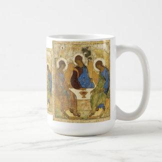 Mamreの三位一体の天使 コーヒーマグカップ