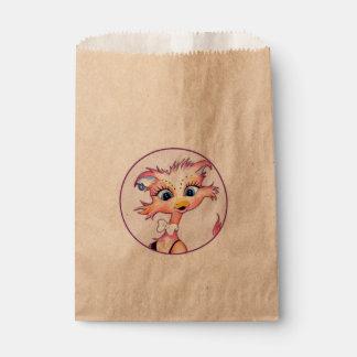 MAMZELLのかわいい漫画の   バッグのクラフトの好意 フェイバーバッグ