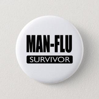 MAN-FLUの生存者 缶バッジ