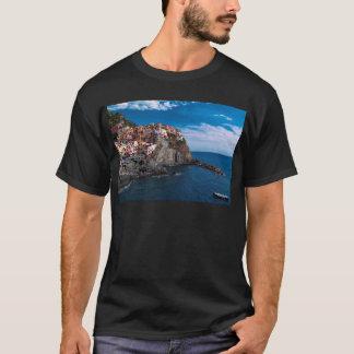 Manarolaのcinqueのterre。 イタリア tシャツ