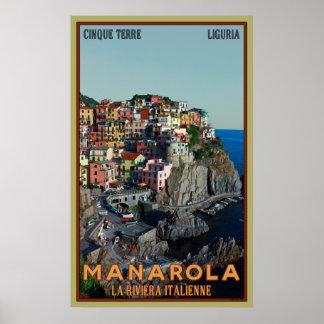 Manarola ポスター