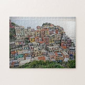 Manarola - Cinque Terre -イタリアのパズル ジグソーパズル