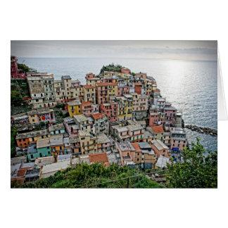 Manarola - Cinque Terre -イタリアの挨拶状 カード