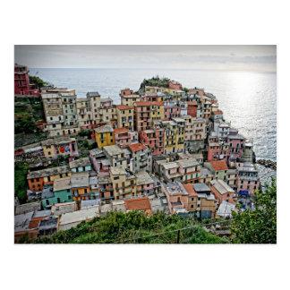 Manarola - Cinque Terre -イタリアの郵便はがき ポストカード