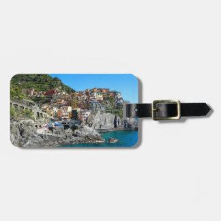 Manarola、Cinque Terre、イタリア、ヨーロッパ ラゲッジタグ