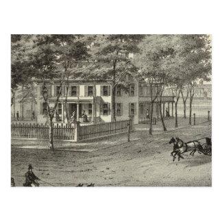 Manasquan、NJのジョンSロジャースの住宅 ポストカード