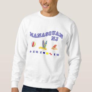 Manasquan NJ -海上スペリング スウェットシャツ