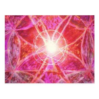 Mandalasmの明示の治療 ポストカード