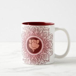 Mandanaの芸術的なGanesh ツートーンマグカップ