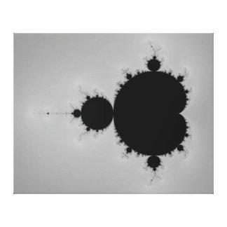 Mandelbrotの一定のフラクタルの形 キャンバスプリント