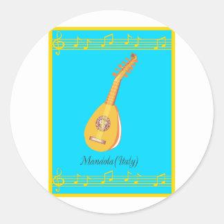 mandola ラウンドシール