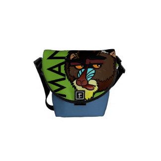 MANDRILLの小型メッセンジャーバッグ クーリエバッグ