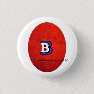 MandyMonumental著ボストン標識のデザイン 缶バッジ
