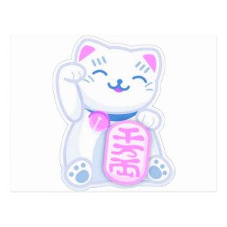 manekiのnekoのパステル ポストカード