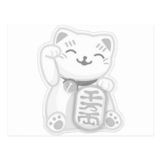 manekiのnekoの灰色 ポストカード