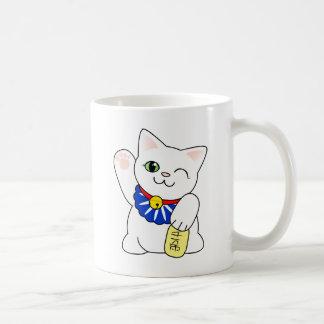 Maneki Nekoの幸運な猫 コーヒーマグカップ