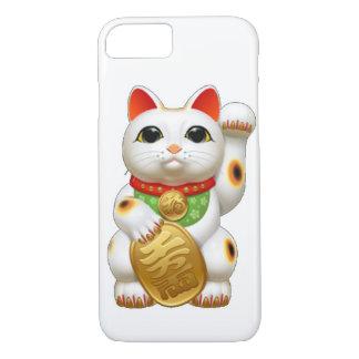 maneki-nekoの幸運な猫 iPhone 8/7ケース