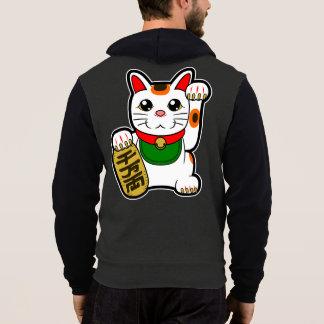 Maneki Neko: 日本ので幸運な猫 パーカ