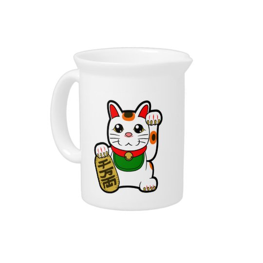 Maneki Neko: 日本ので幸運な猫 ピッチャー